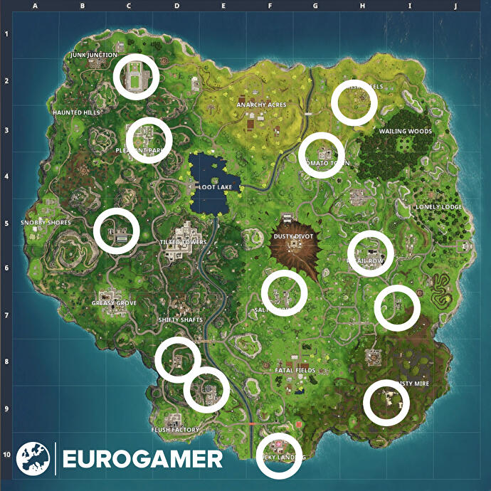 Fortnite Gnome Locations Where To Search For Hungry Gnomes