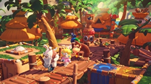 Mario + Rabbids Kingdom Battle: il DLC Donkey Kong Adventure