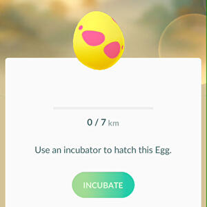 Pokémon Go Egg chart for hatching 2km, 5km, 7km, 10km Eggs ...