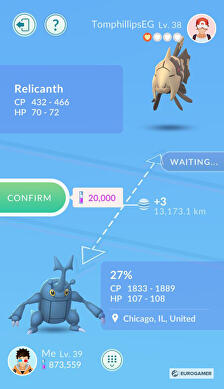 how to trade in pokemon go