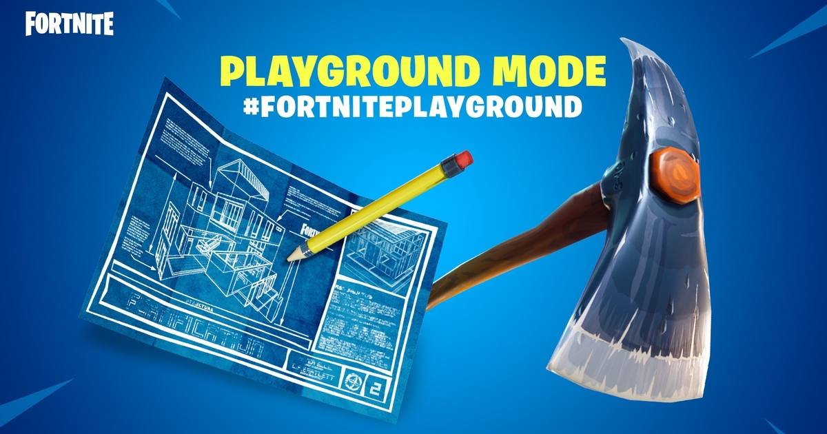 The Fortnite update merry-go-round continues with Playground mode pulled hours after launch