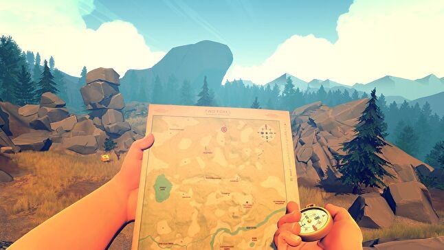 Firewatch's developers brought voice actors in on the characters from the start, even if they didn't yet know where they would end up