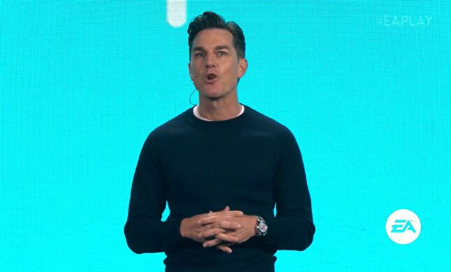 At E3 2018, EA CEO Andrew Wilson predicted streaming will have a 'profound impact' on the games industry, but the business model isn't fully formed yet