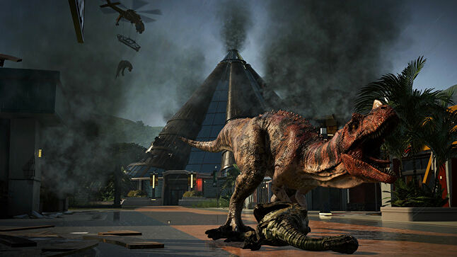 Jurassic World Evolution is Frontier's latest self-published effort