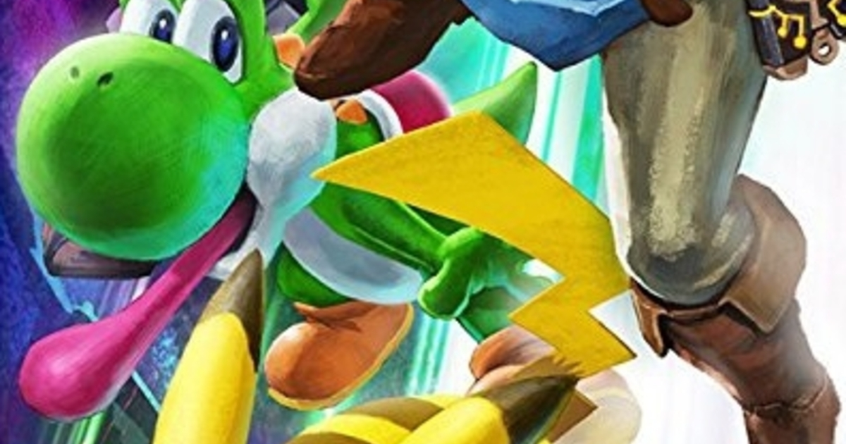 Germany's giant game rating logo sees Yoshi binned off Super Smash Bros. Ultimate box