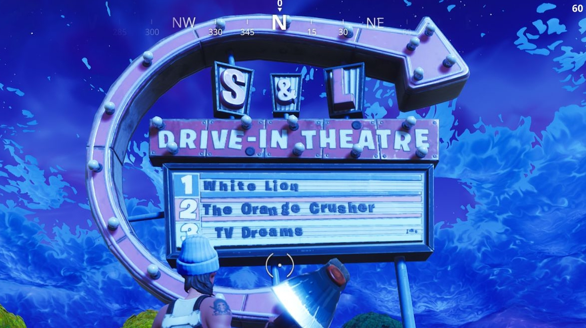 Fortnite Movie Titles Location