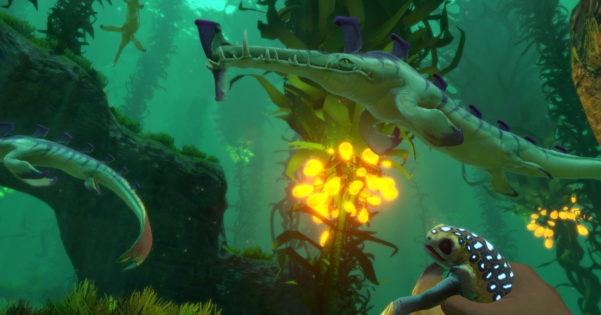 Wonderful underwater survival adventure Subnautica is coming to PS4