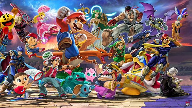 Smash Bros. is set to lead a strong finish to the year for the Switch