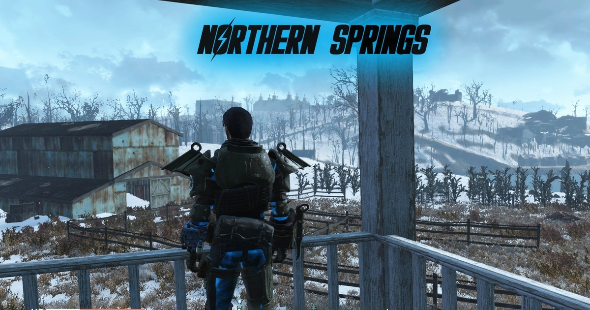 Fallout 4 mod Northern Springs brings expansive icy wasteland to the Commonwealth