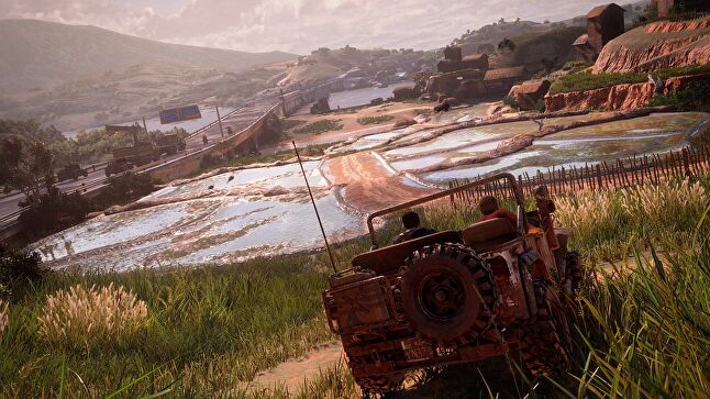 Uncharted 4 featured some more open-ended areas than previous entries in the series