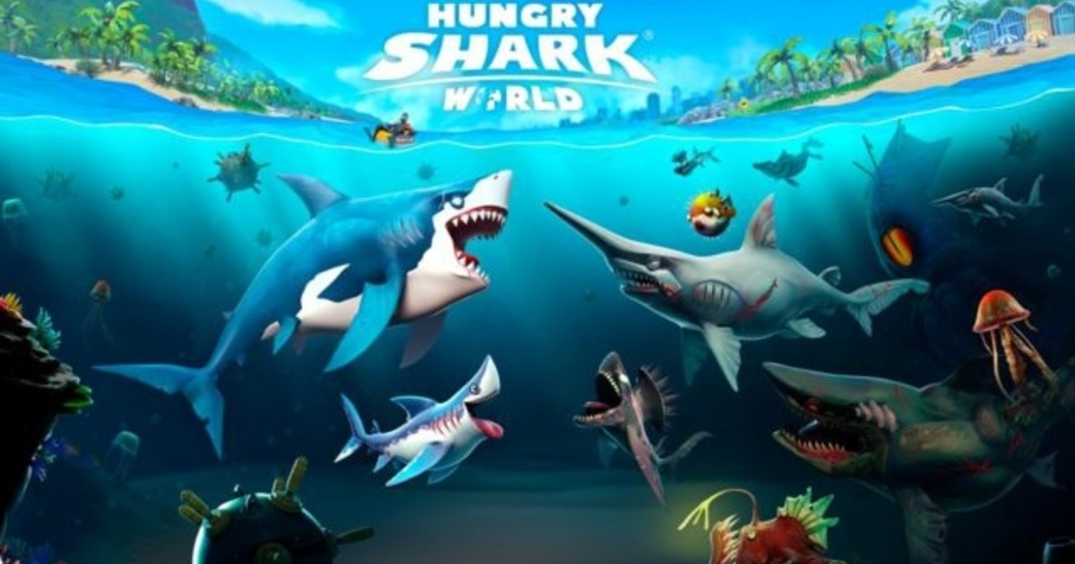 Hungry Shark World lands on consoles today