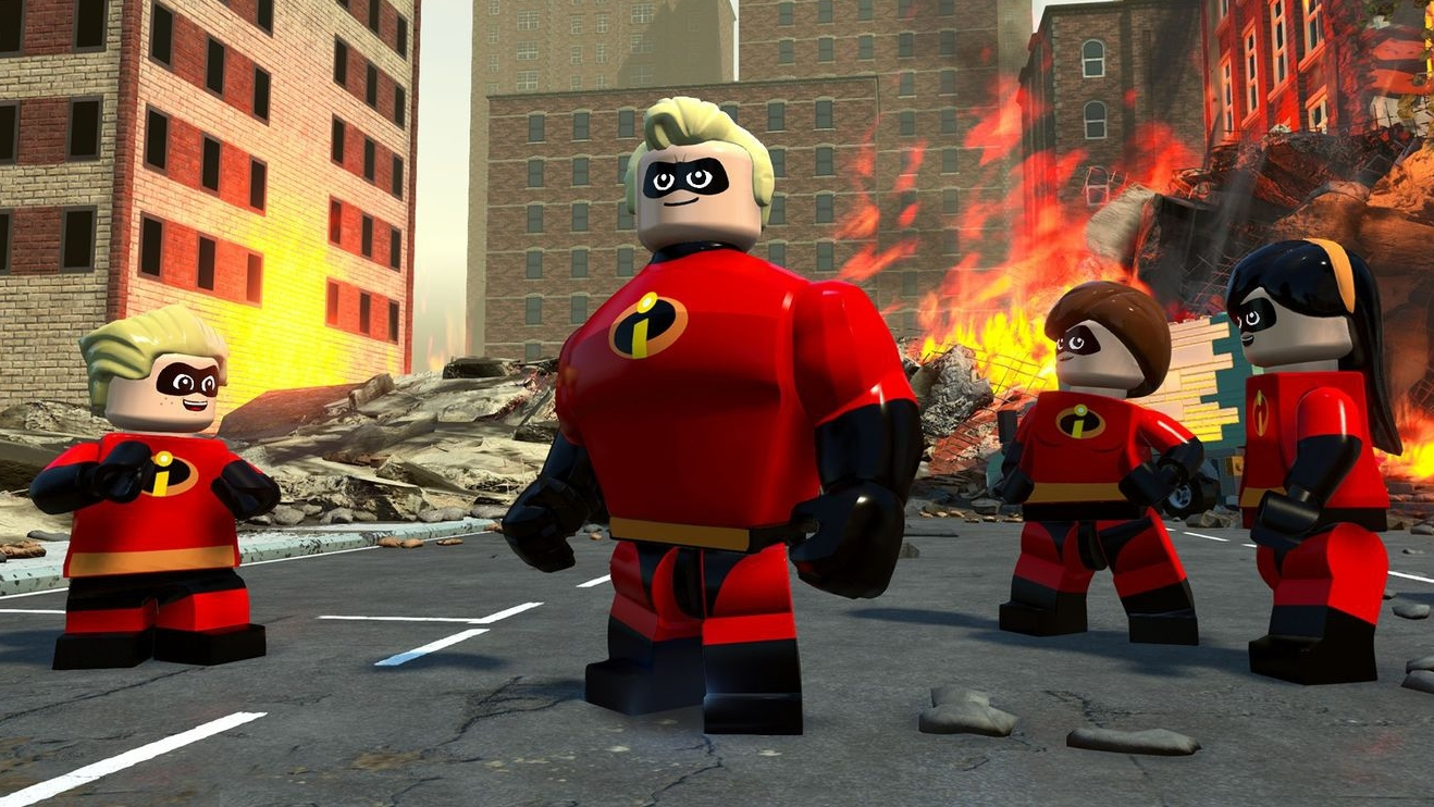 Lego Incredibles Cheat Codes Pixar Character Locations Lists