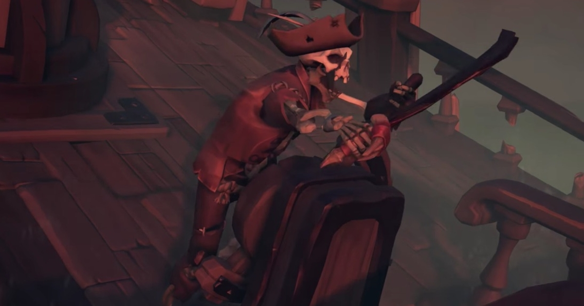 Sea of Thieves' next major content update Cursed Sails gets a July release date and trailer