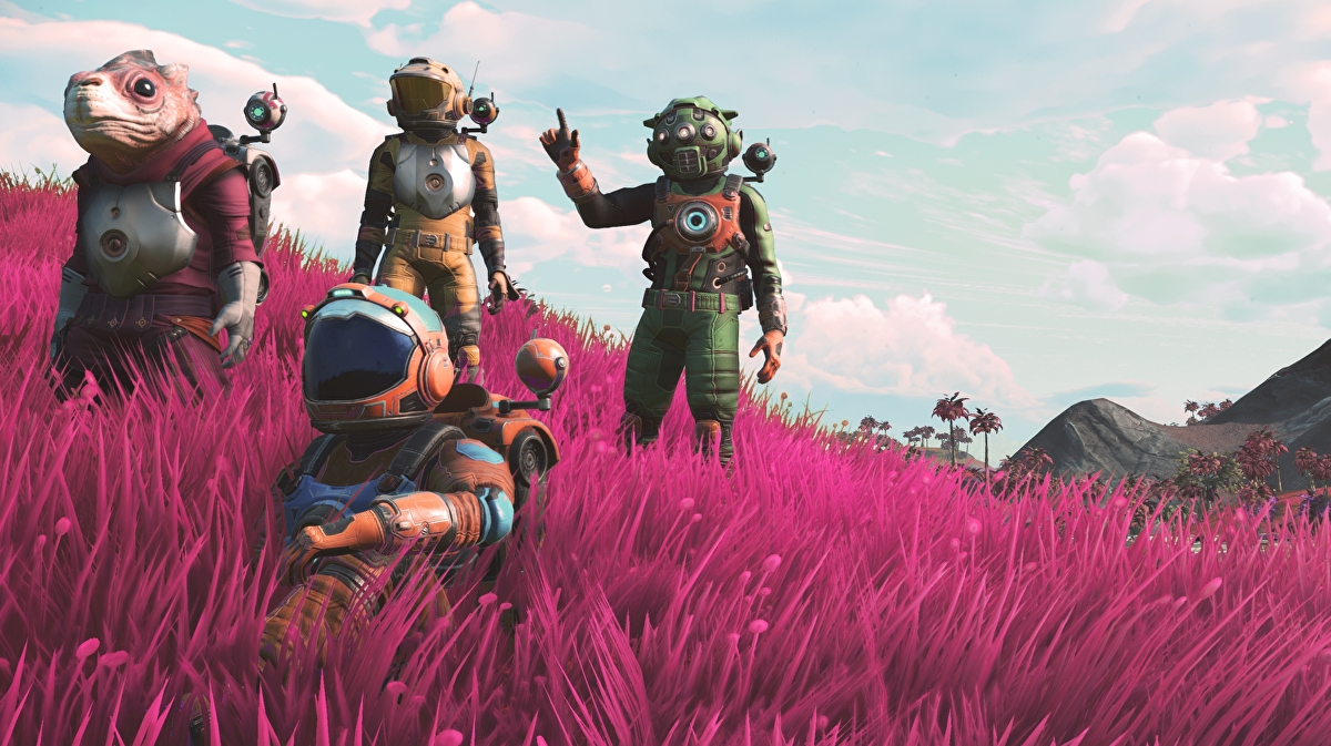 No Man's Sky's NEXT update is big • Eurogamer net
