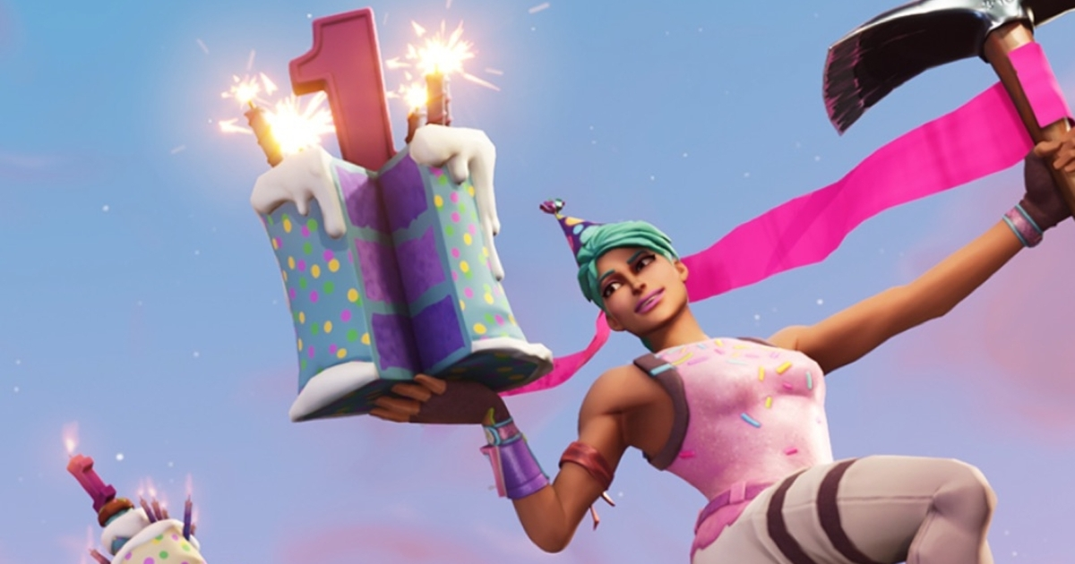 Fortnite is celebrating its first birthday next week with a limited-time event