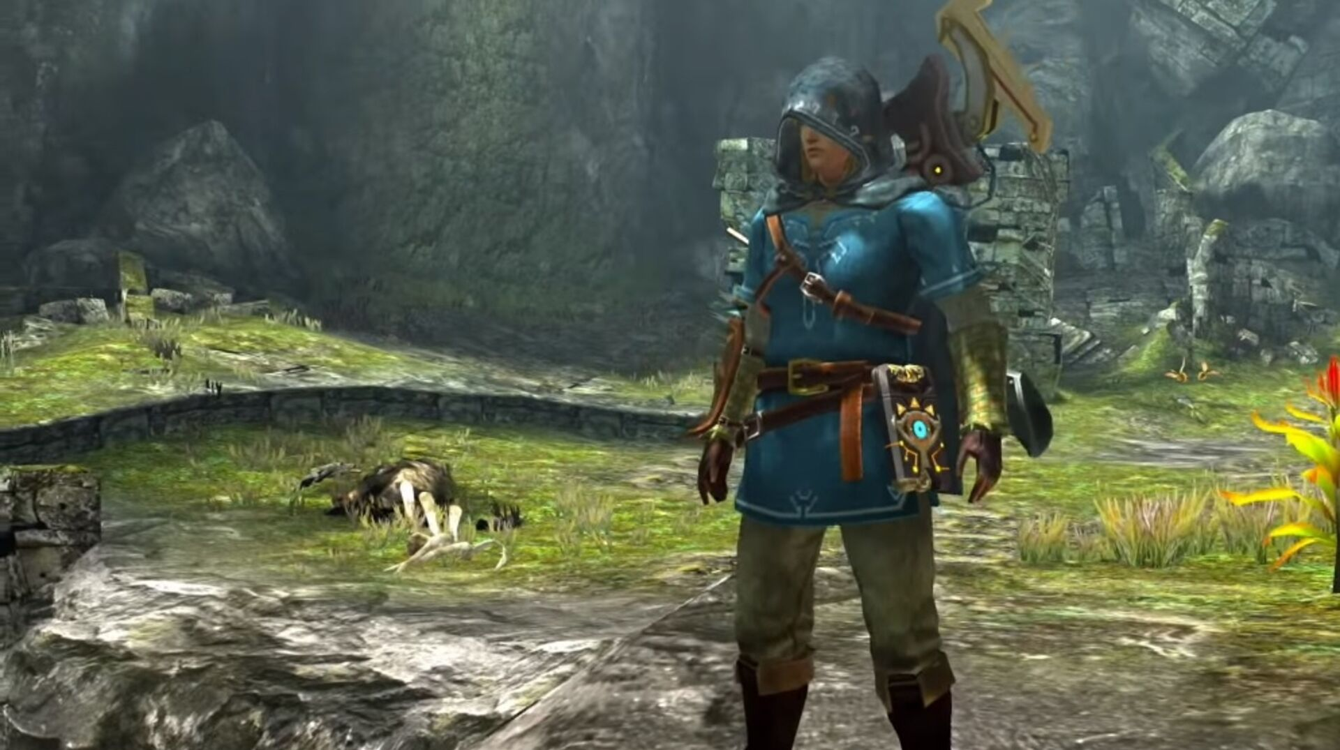 You can play as Link in Monster Hunter Generations Ultimate on
