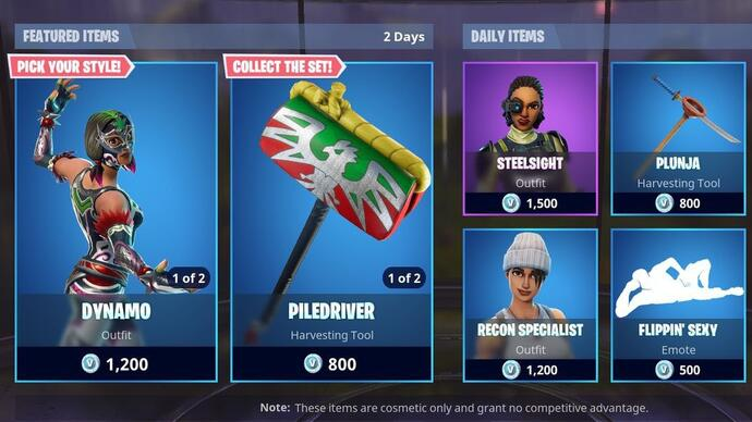 Fortnite Item Shop - August 15 update details