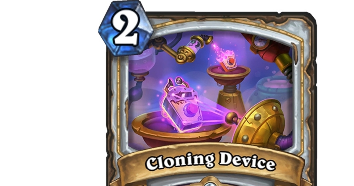 Here's a brand new card from Hearthstone's next expansion