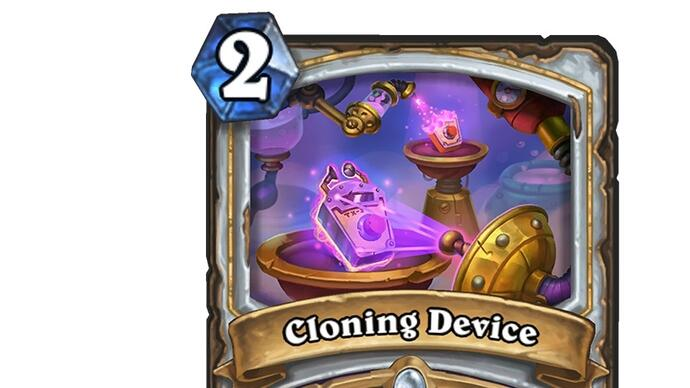 Here's a brand new card from Hearthstone's nextexpansion