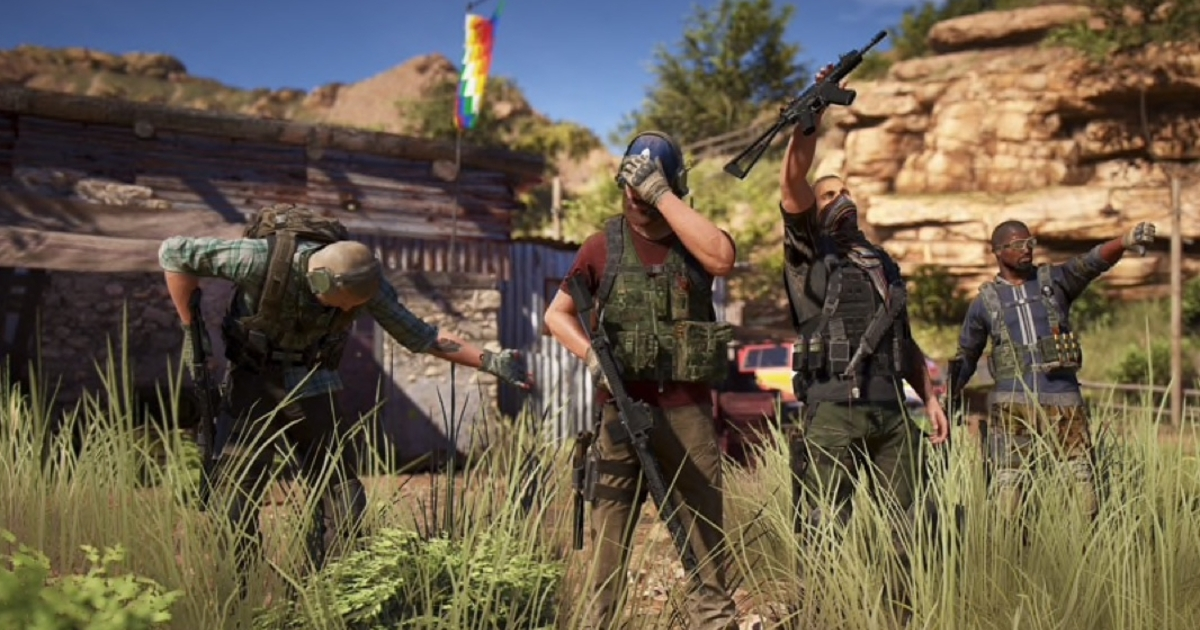 Ghost Recon Wildlands' big Rainbow Six Siege crossover update is out now