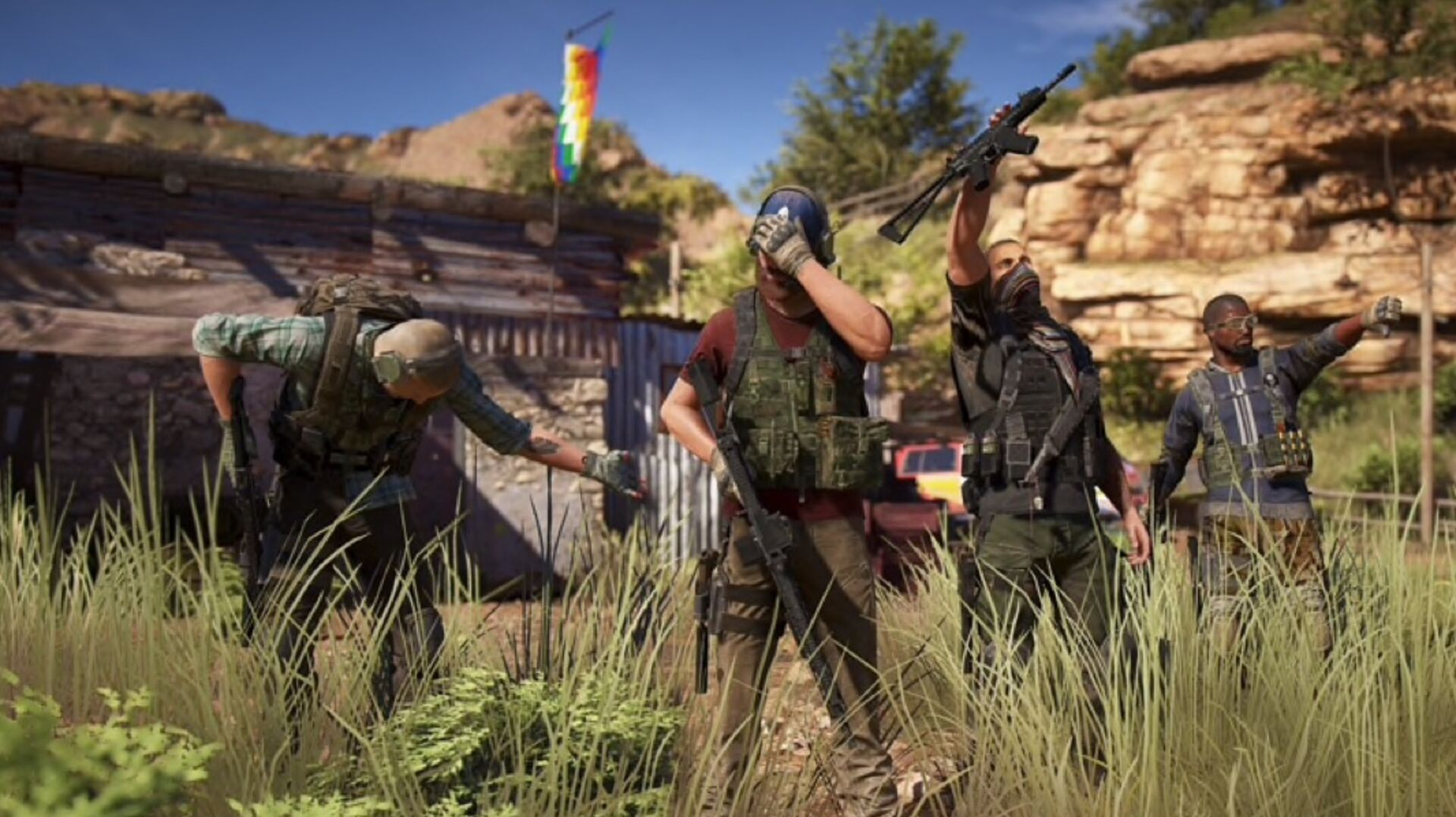 Ghost Recon Wildlands' big Rainbow Six Siege crossover update is out