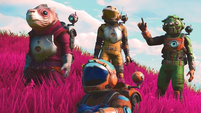 No Man's Sky launched without multiplayer onGOG