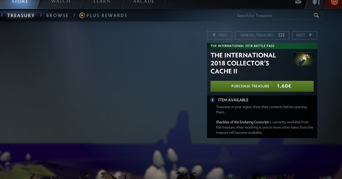 Dutch Dota 2 players can now see what's in a loot box before they buy it
