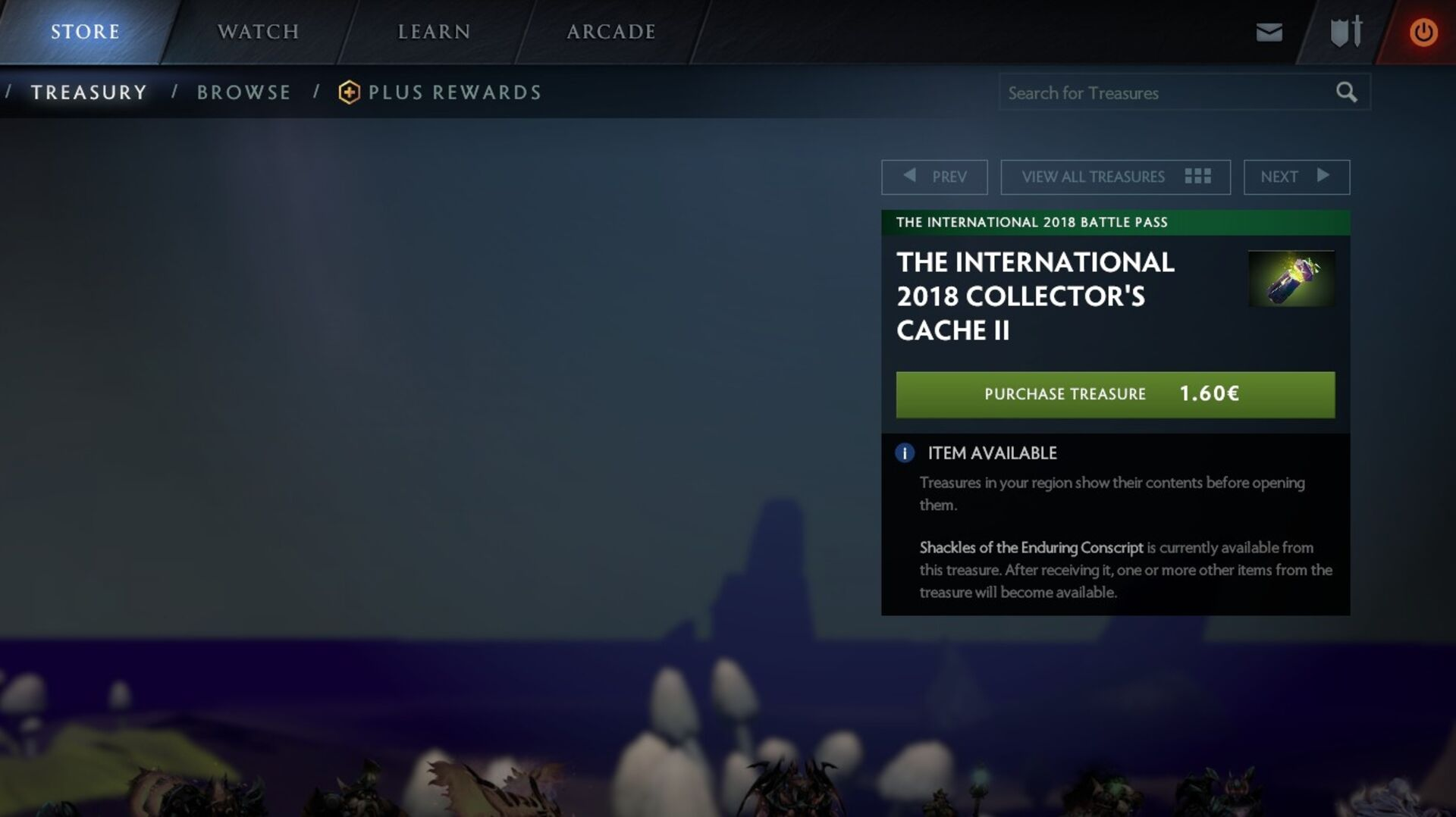 Dutch Dota 2 players can now see what's in a loot box before