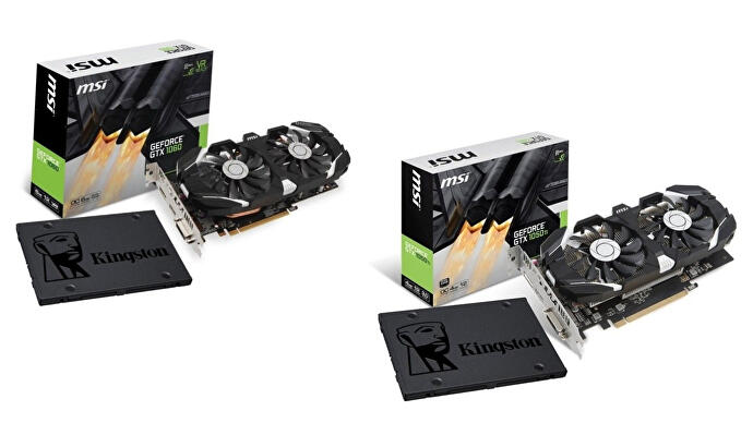Nvidia offers free SSDs with GTX 1050 Ti and GTX 1060 graphics cards