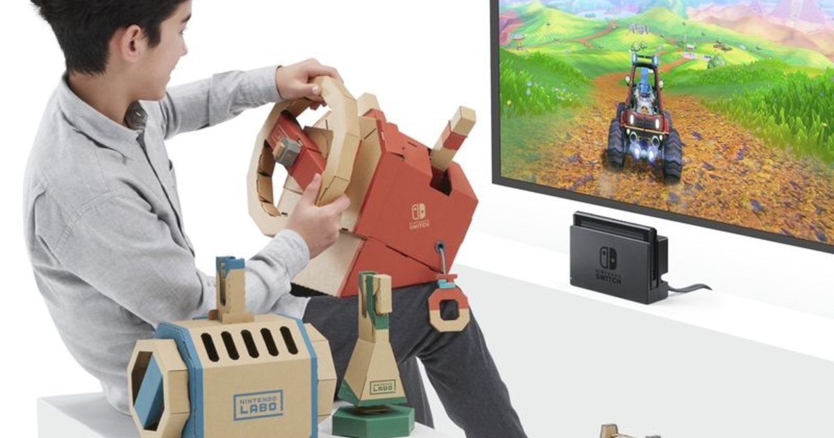 Nintendo unveils third Labo release: the vehicle kit