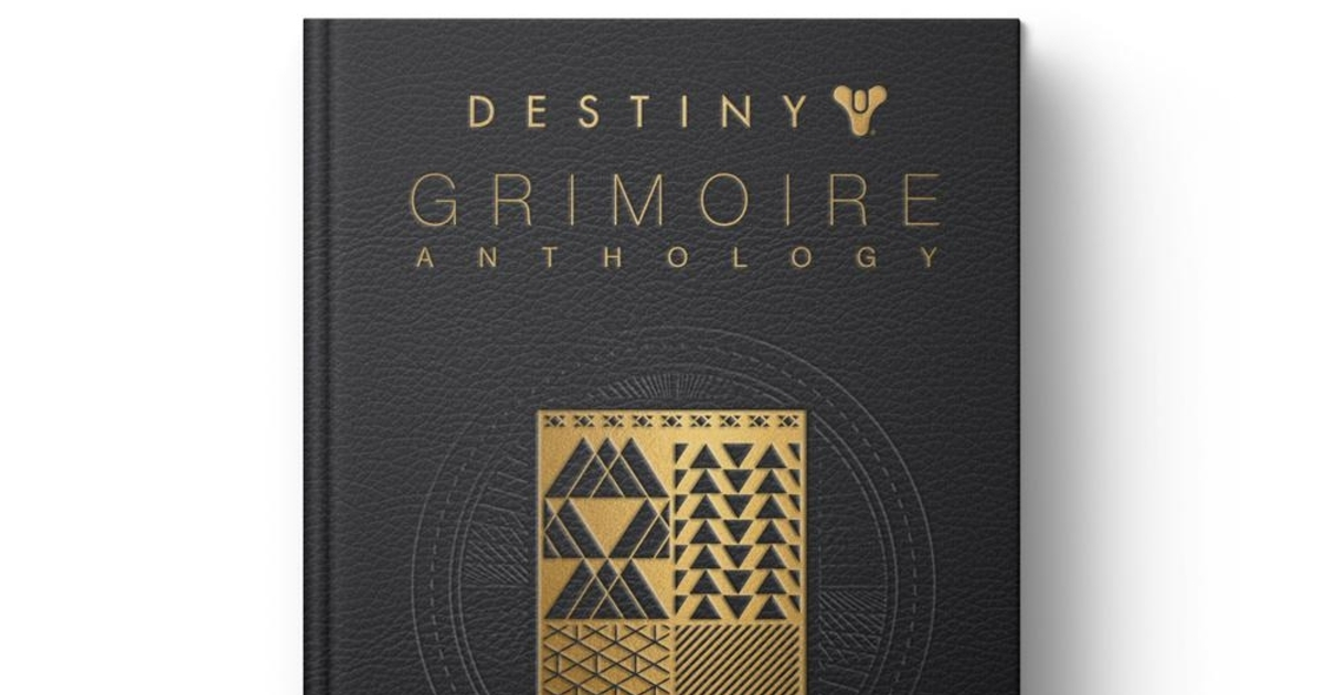 Bungie made a book of the Destiny Grimoire