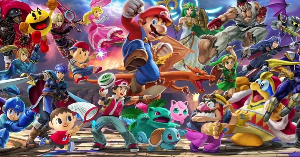 Here's where you can watch the Nintendo UK VS Super Smash Bros Ultimate Invitational later today