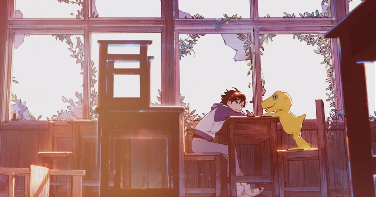 New Digimon game is a survival-simulation RPG