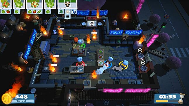Overcooked 2 is out next week, while Planet ALPHA launches in September