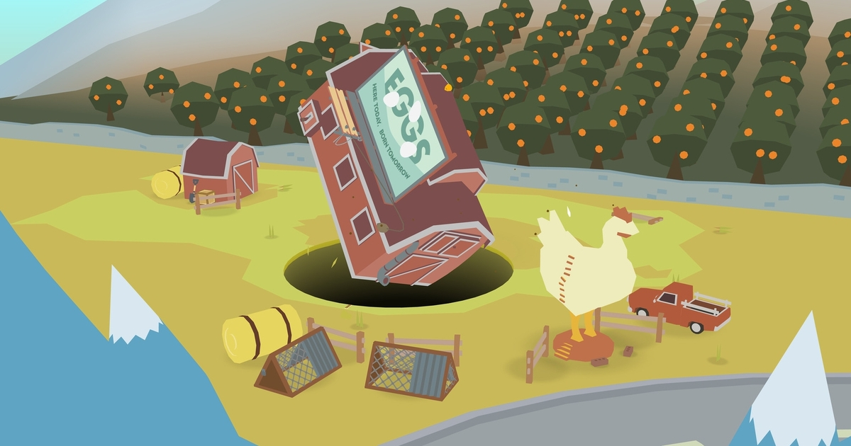 Be a hole and swallow the world when physics puzzler Donut County launches next month