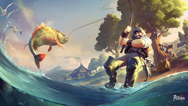 Every feature, like the recent addition of fishing, has to be integrated with Albion Online's player-created economy
