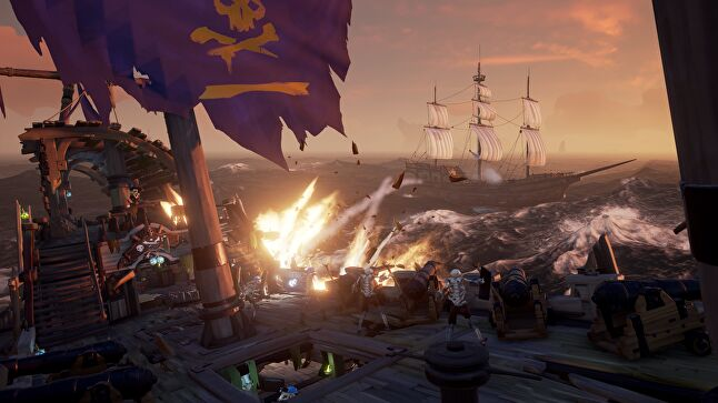By the end of the year, Sea of Thieves will have six significant expansions plus regular two-week events - a busier schedule than many online games