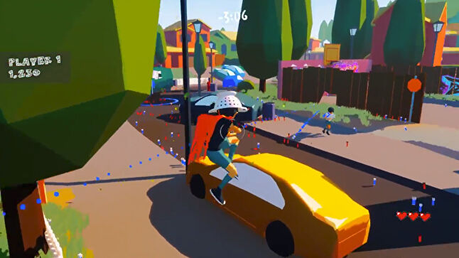 Multiplayer shooter Rascals was one of the latest game jam prototypes Sumo is considering sharing online