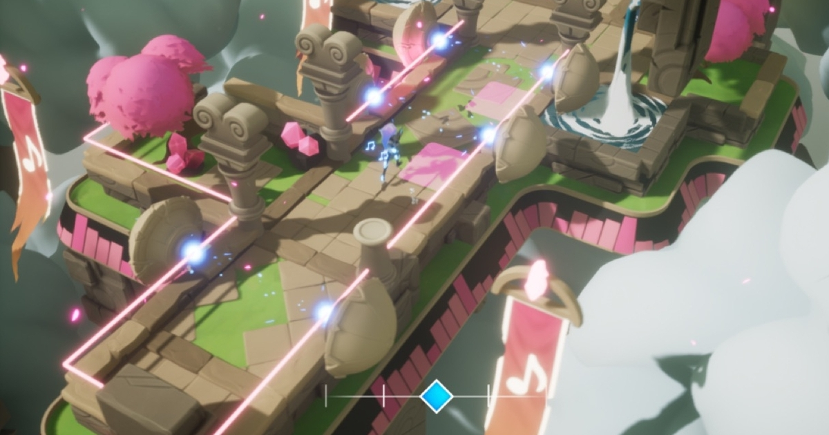 Take an early look at dungeon-crawling rhythm-action adventure Soundfall
