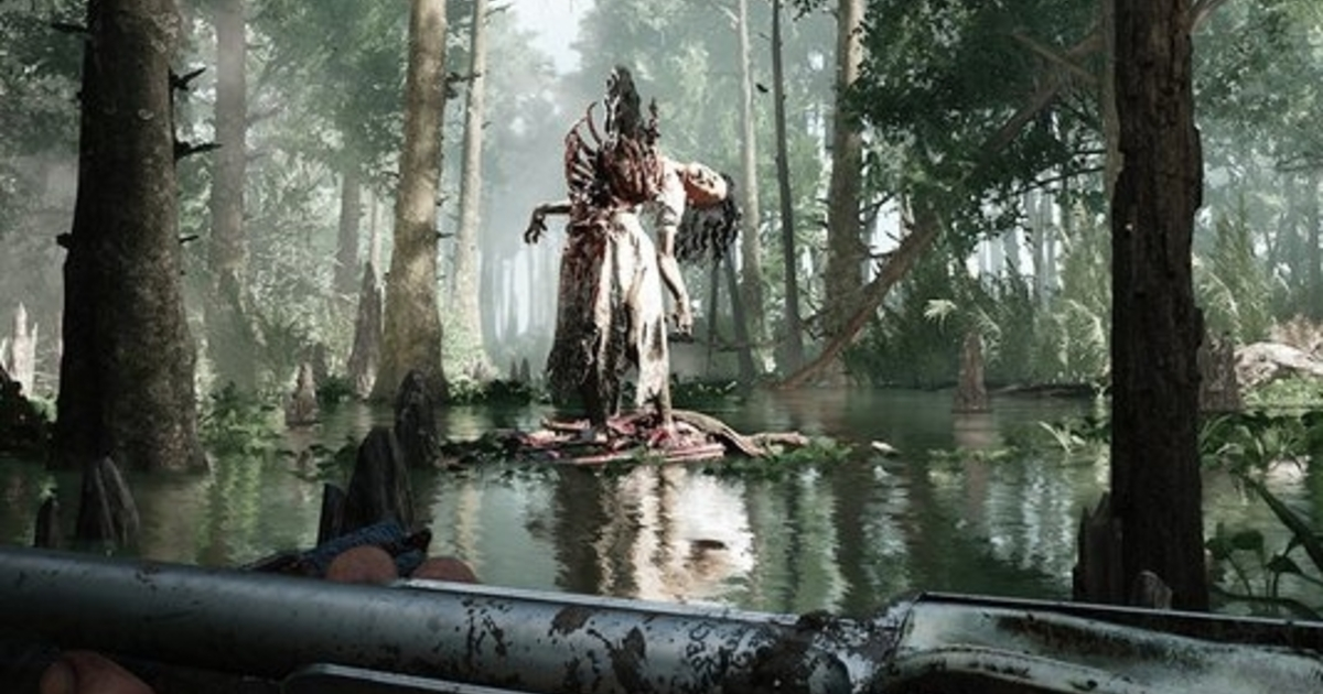 Multiplayer swamp horror Hunt: Showdown is free to try this weekend on Steam