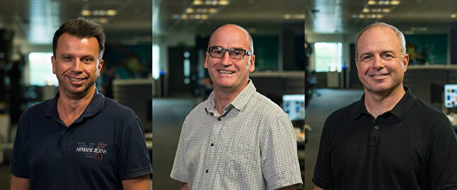 Meet the team: John Burns, Simon Bull and Jeff Pabst