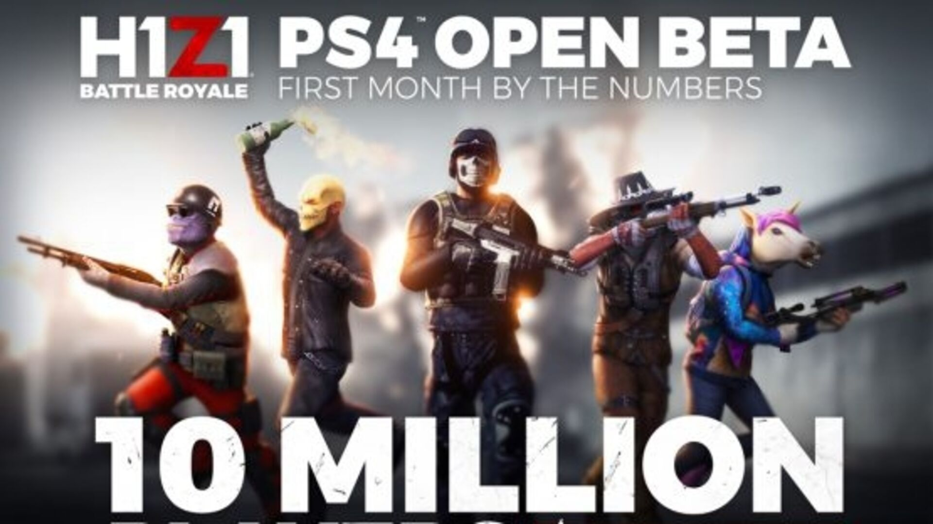 H1Z1 PS4 producer on spectacular launch, balancing and what