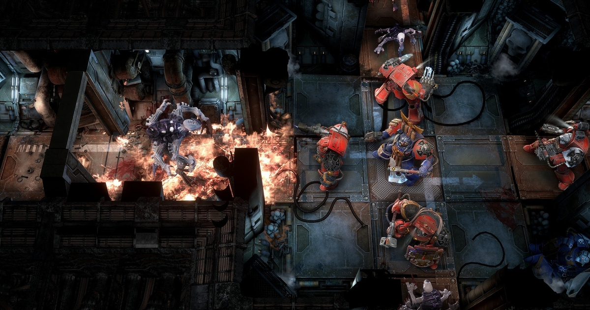 Space Hulk: Tactics looks like a promising clash of Space Marine and XCOM
