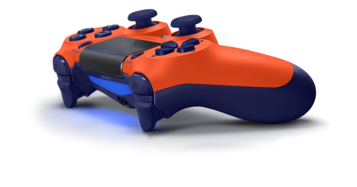 Sony Reveals Four New Ps4 Controller Colours Set For The