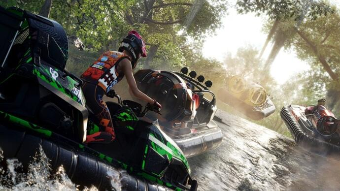 The Crew 2's free hovercraft-themed Gator Rush update gets a September release date