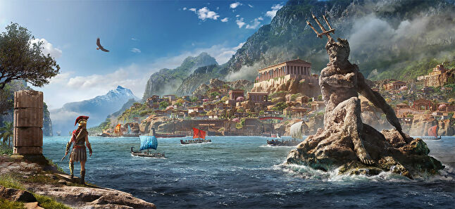Ubisoft has faced some criticism for revealing Odyssey so soon after Origins, but this year's title has still been in development for three years so quality should not suffer