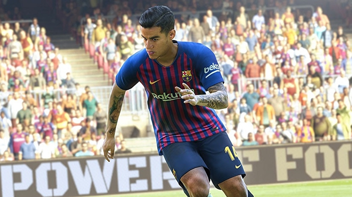 c1085e24d PES 2019 review - patience on the pitch, a shambles off it • Eurogamer.net