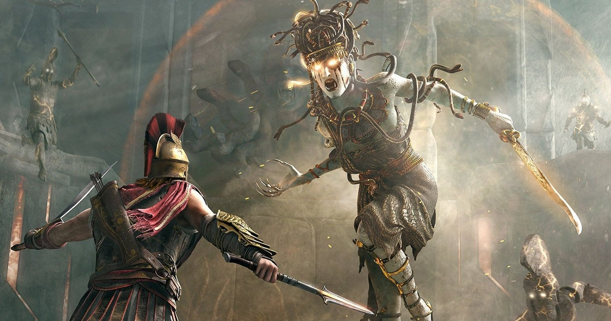 Hunt For Medusa In The New Trailer Of Assassin 39 S Creed