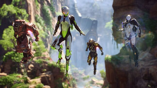 Anthem is slated for release in February 2019, but so far the marketing push from EA has been minimal