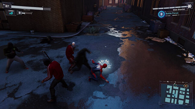 Combat may look like the Arkham games, but it plays out a bit differently.